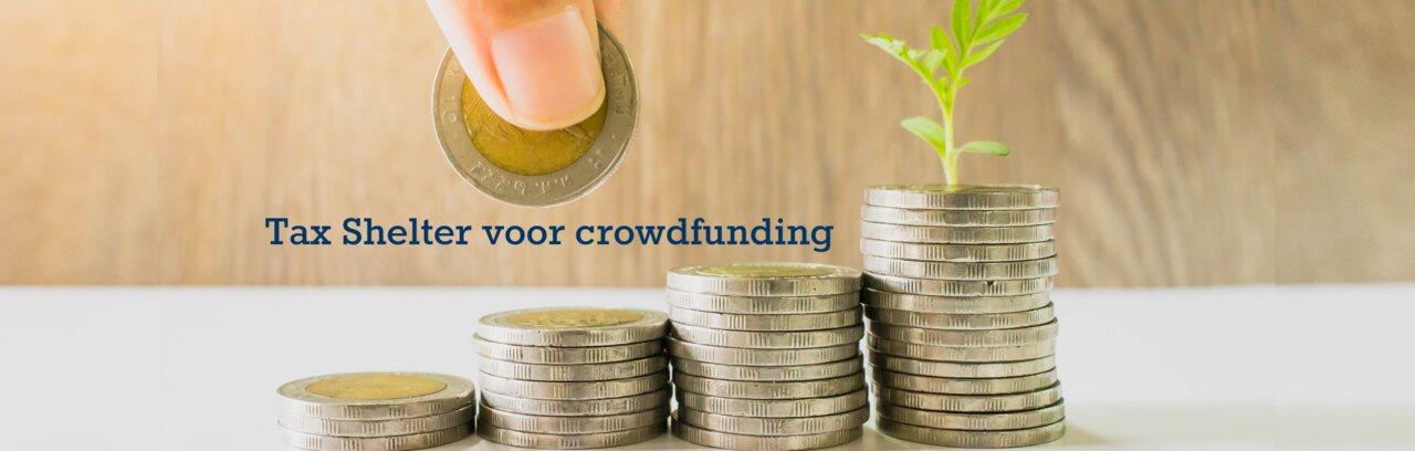 Hoe werkt de Tax Shelter voor crowdfunding?